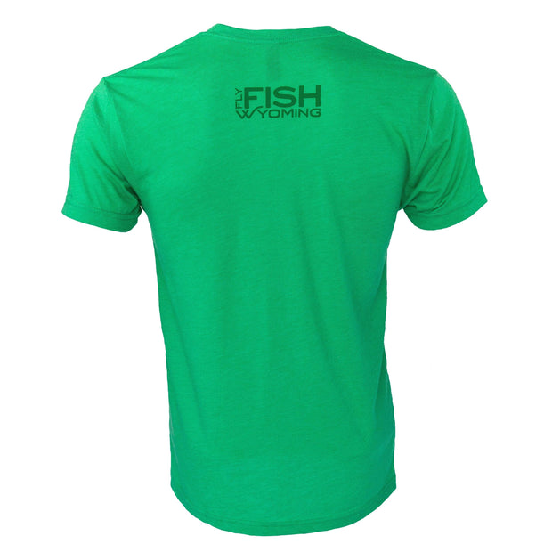 Fly Fish Wyoming Men's Signature Fly Fish Wyoming®  Logo Tee 2