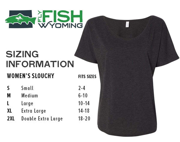 Fly Fish Wyoming Women's Women's Fly Tee