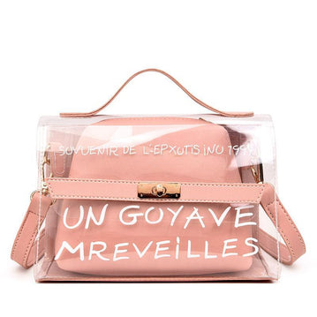 TRANSPARENT FRENCH BAG