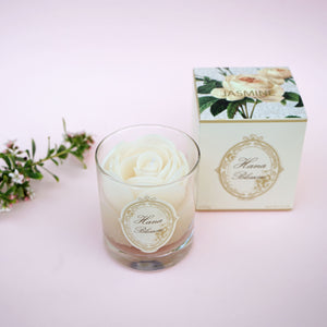 White Rose Scented Container Candle