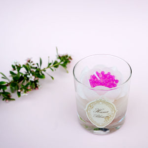 Peony Scented Container Candle. A perfect gift for her.