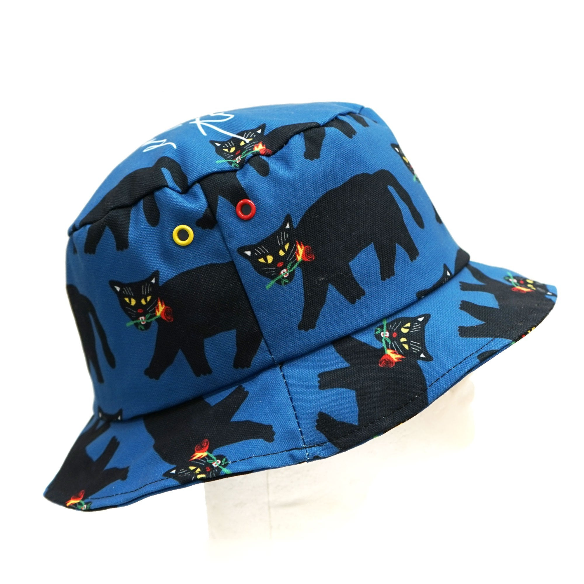 Fire Black Panther Bucket Hat
