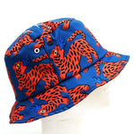 Fire Red Tiger Bucket Hat