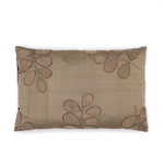 Silk Leaf Cushion Cover