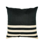 Black Silk Cushion Cover