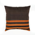 Brown Silk Cushion Covers
