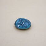 Handmade Blue with Spiral Pattern Soaps Stone