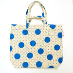 Inspired by the geometric shapes, this tote bag printed design is so cool.