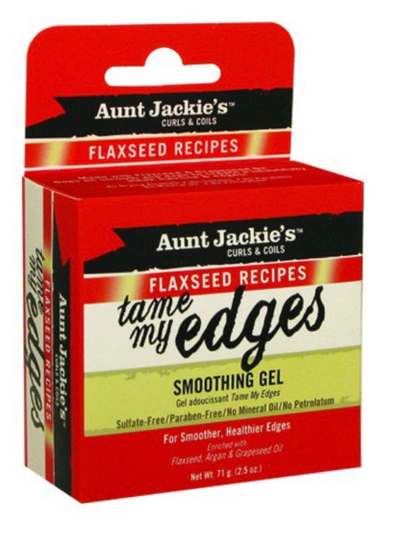 Aunt Jackie's Flaxseed Recipe Tame My Edges