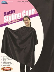 Dream World Satin Styling Cape
