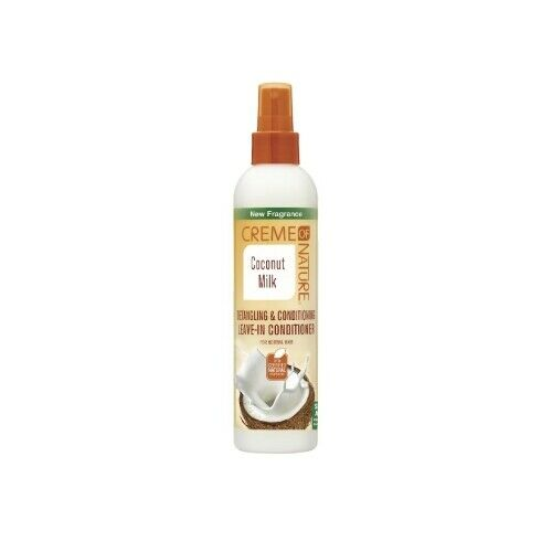 Creme of Nature Coconut Milk Detangling & Conditioning Leave-In Conditioner