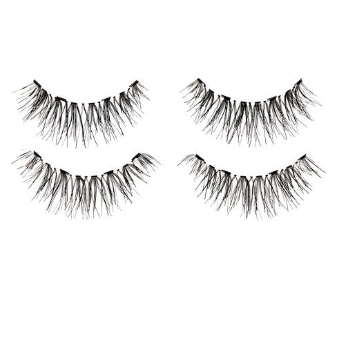 A. Simone Faux Mink Lash Collection - Black Wispie 002