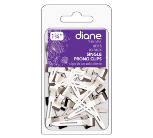 Diane Single Prong Clips