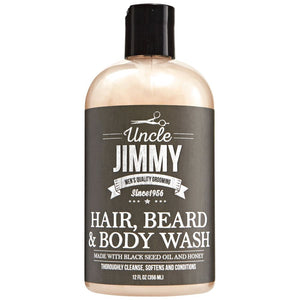 Uncled Jimmy Hair, Beard & Body Wash