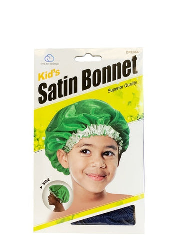 Kids Satin Bonnet