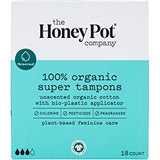 THE HONEY POT COMPANY SUPER TAMPONS