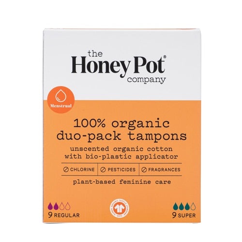 The Honey Pot Organic Duo-Pack Tampons