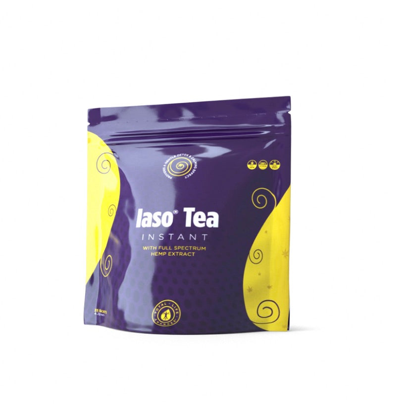 LEMON IASO® TEA INSTANT WITH FULL SPECTRUM HEMP EXTRACT