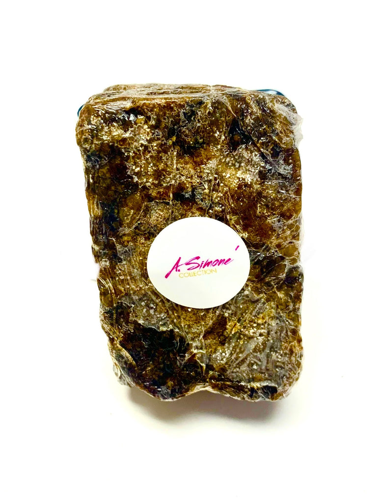 A.Simone Collection Raw African Black Soap