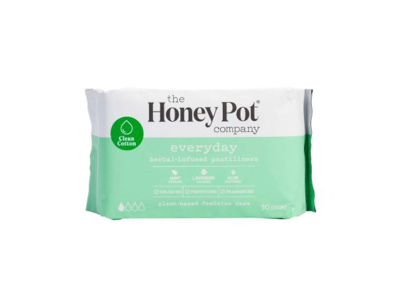 THE HONEY POT COMPANY HERBAL PANTYLINERS