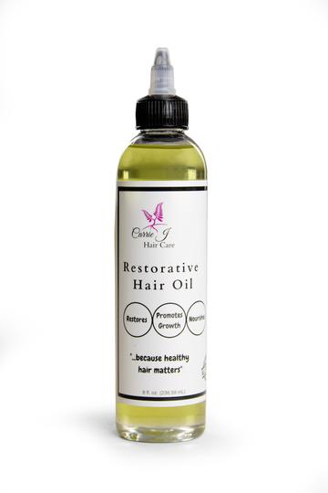 Carrie J's Restorative Hair Oil