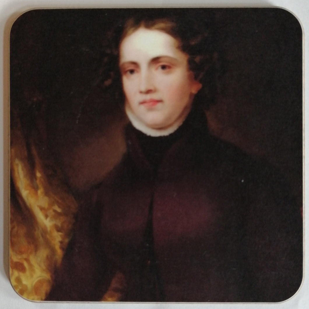 Anne Lister Portrait Cork Coaster
