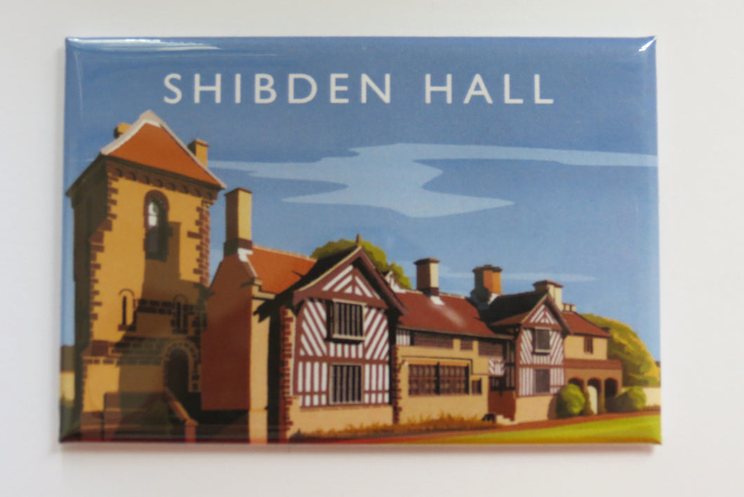 Shibden Hall Fridge Magnet