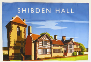 Shibden Hall 100% Cotton Tea Towel
