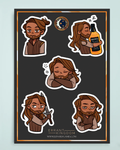 Erik Sticker Sheet