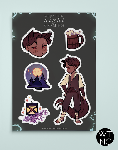 Alkar Sticker Sheet