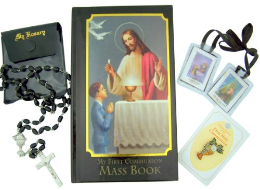 Boy First Communion Gift Set
