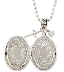 Divine Mercy Devotional Locket