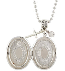 Miraculous Mary Devotional Locket