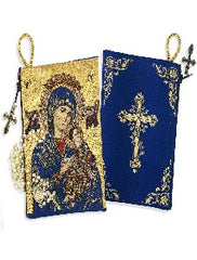 Rosary Icon Pouch - Virgin of Perpetual Help