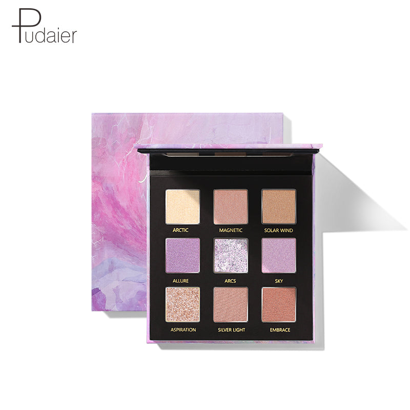 Pudaier® Refreshing 9-pan Eyeshadow Palette