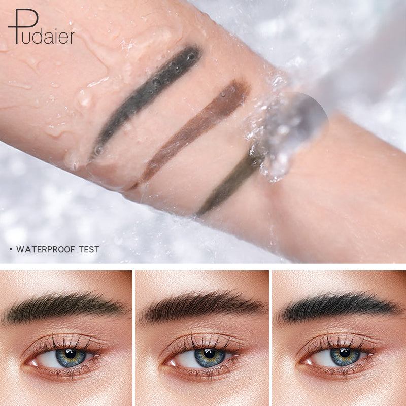 Pudaier® Clear Eyebrow Gel & Colour Eyebrow | Waterproof  Full-pigment