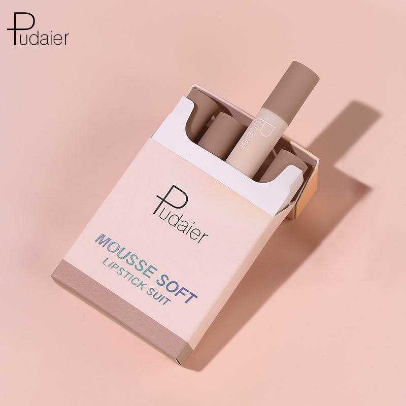MOUSSE CIGARETTE-BOX LIPSTICK SET