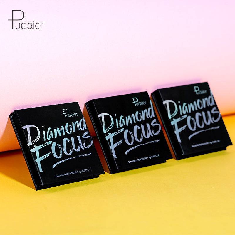 Diamond Focus Highlighter Palette