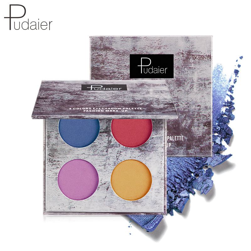 Pudaier® 4-pan Eyeshadow Palette | Insanely pigmented | Long-lasting