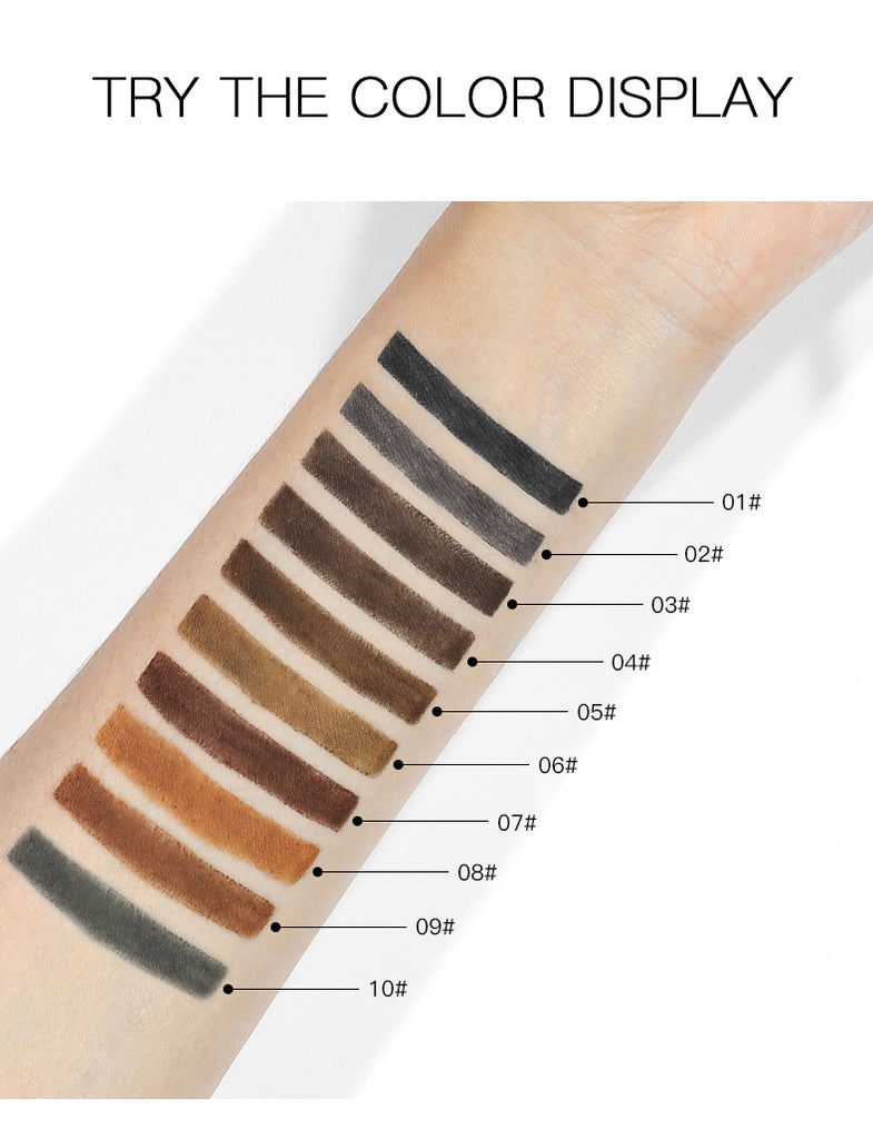 2 in 1 Natural&Vivid Eyebrow Pencil