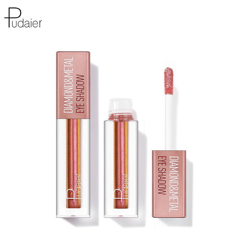 Pudaier® Diamond Shimmer & Glow Liquid Eyeshadow | Matte Finished