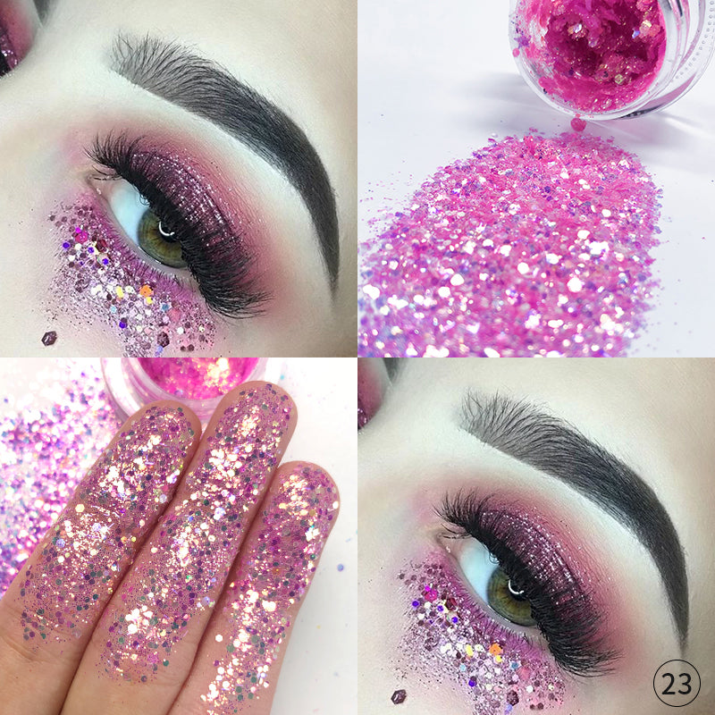 Eyes & Nail Glitter Pigment | New Sparkle-packed Pigments