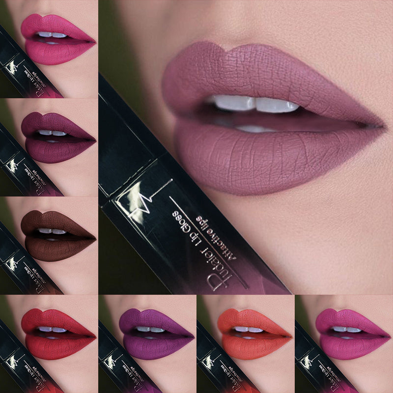 21 Colors Matte Velvet Liquid Lipstick