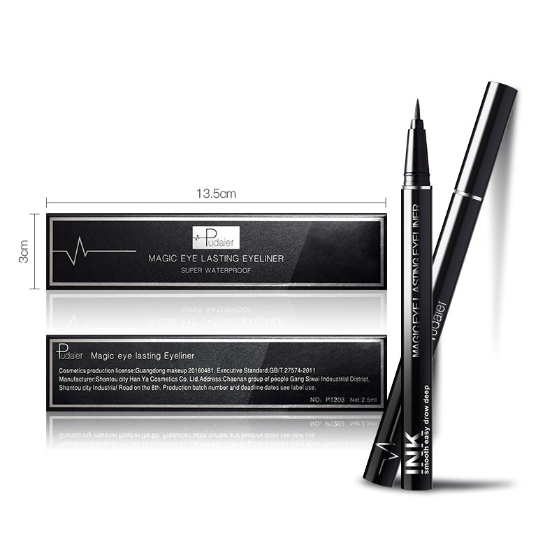 Waterproof Liquid Eye Liner-Bright Black
