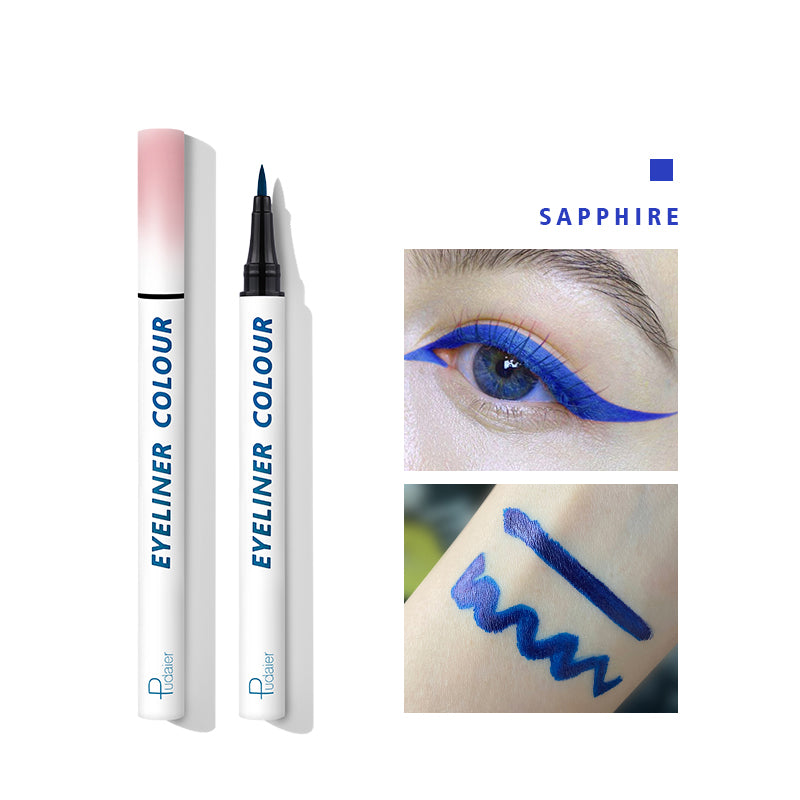 NEW ARRIVIAL Pudaier Colourful Liquid Matte Eyeliner 24 hours