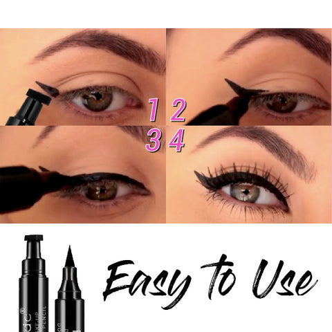 DOUBLE-ENDED MAKEUP STAMPS EYELINER