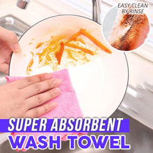 Load image into Gallery viewer, Super Absorbent Wash Towel (2PCS)