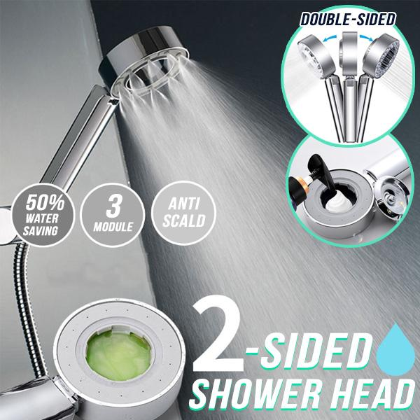 Double Sided Shower Head