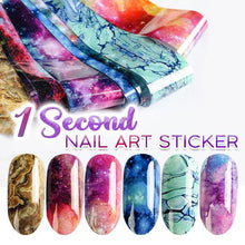 Load image into Gallery viewer, 1 Second Nail Art Sticker