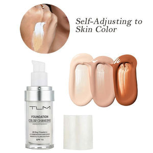 Color Changing Liquid Foundation
